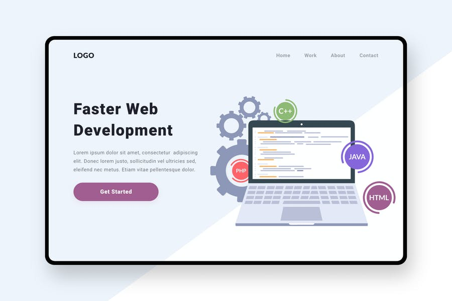 Web Development Illustration