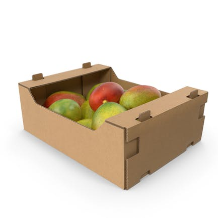 Cardboard Display Box with Mangos