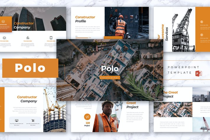Thumbnail for POLO - Construction Powerpoint Template