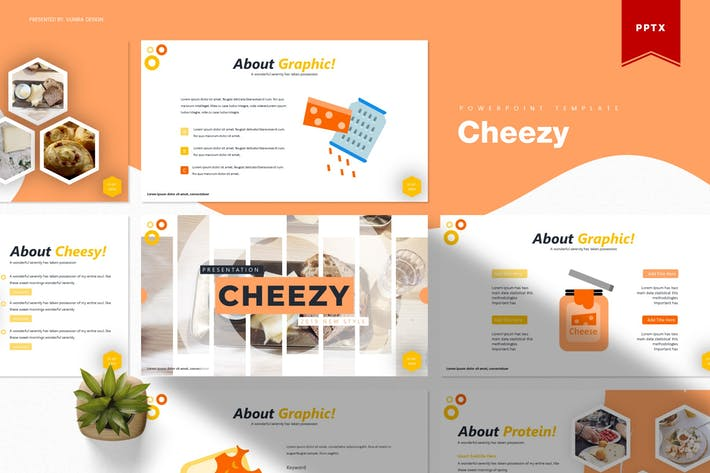Thumbnail for Cheezy | Powerpoint Template