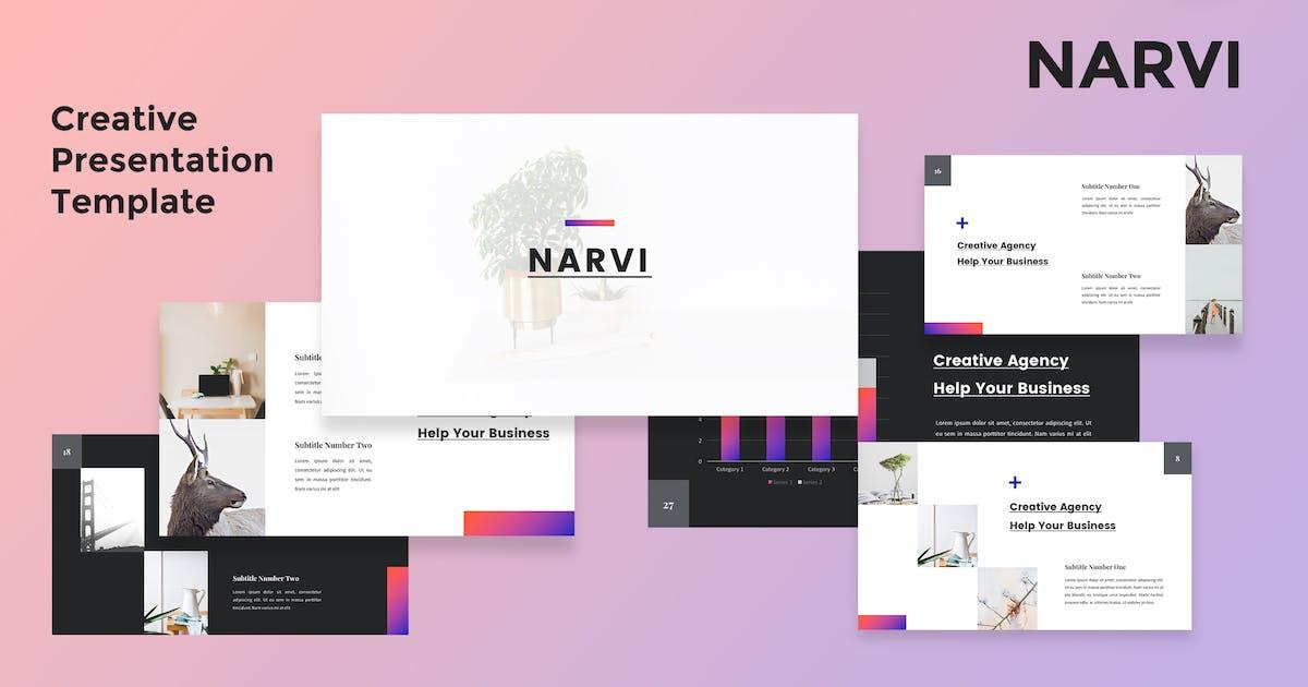 Narvi - Creative Powerpoint Presentation Template by alexacrib