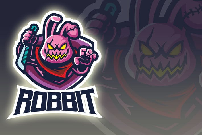 Thumbnail for Brutal Rabbit Esport Logo