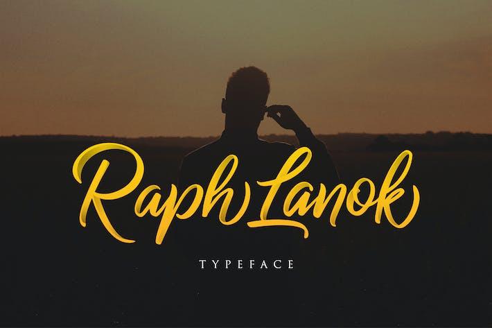 Thumbnail for Raph Lanok Typeface