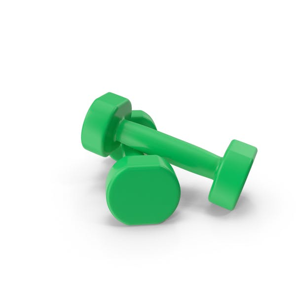 Thumbnail for green dumbbells