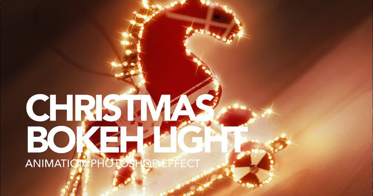 Download Gif Animated Christmas Bokeh Photoshop Action by sreda