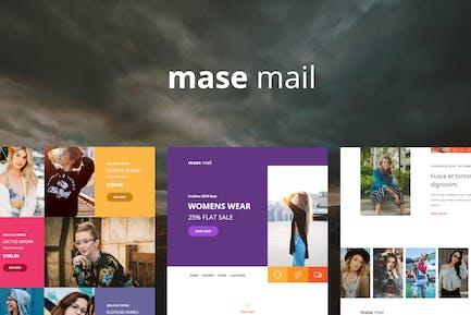 Mase Mail - Modèle de courrier électronique réactif