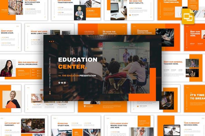 Thumbnail for Education Center - Multipurpose Google Slides