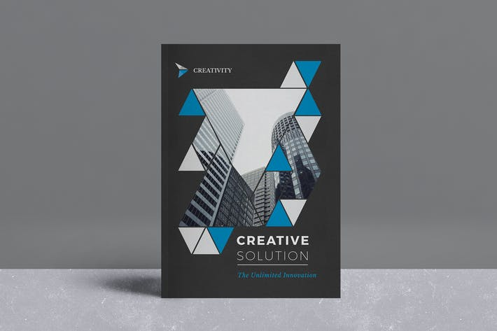 cover image for brochure template - Brochure Templates Envato