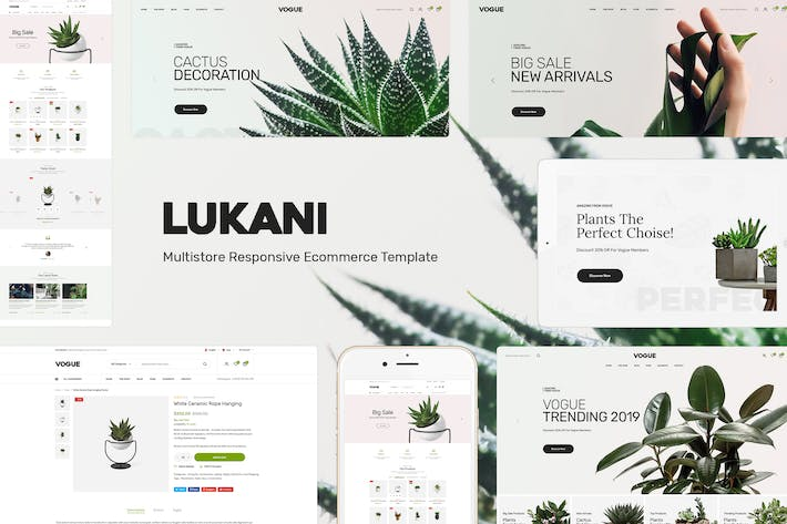Thumbnail for Lukani - Plant Theme for WooCommerce WordPress