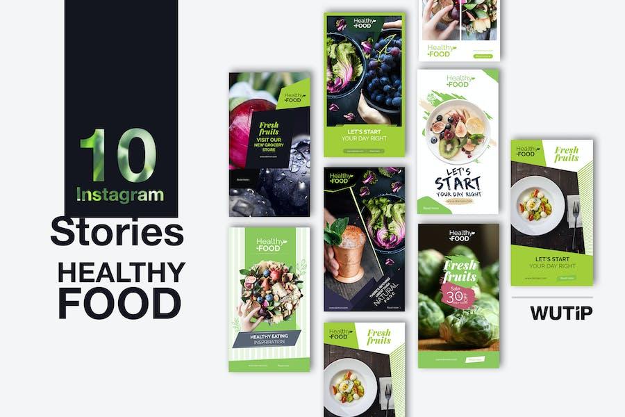 10 Instagram Stories - Gesunde Ernährung