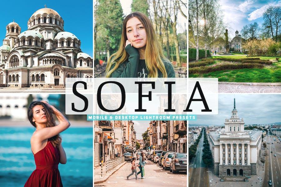 Sofia Mobile & Desktop Lightroom Presets