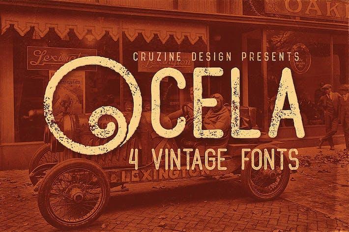 Thumbnail for Ocela Typeface