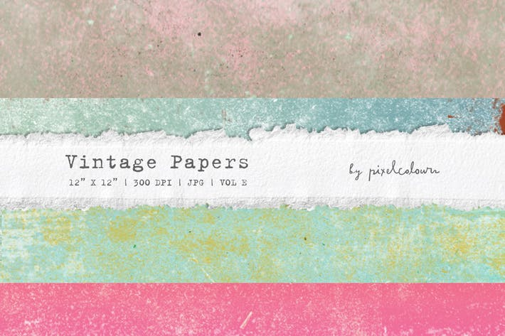 Thumbnail for Vintage Papers or Backgrounds E