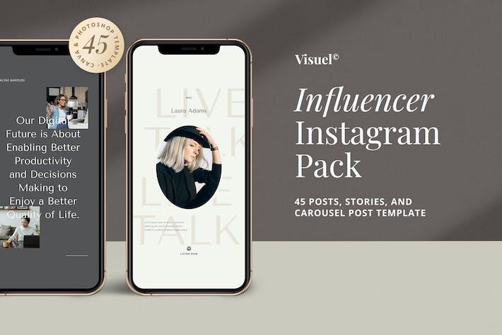 Thumbnail for Influencer Social Media Kit v.3
