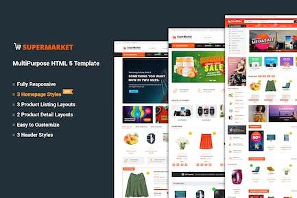 Supermarket - MultiPurpose HTML 5 Template