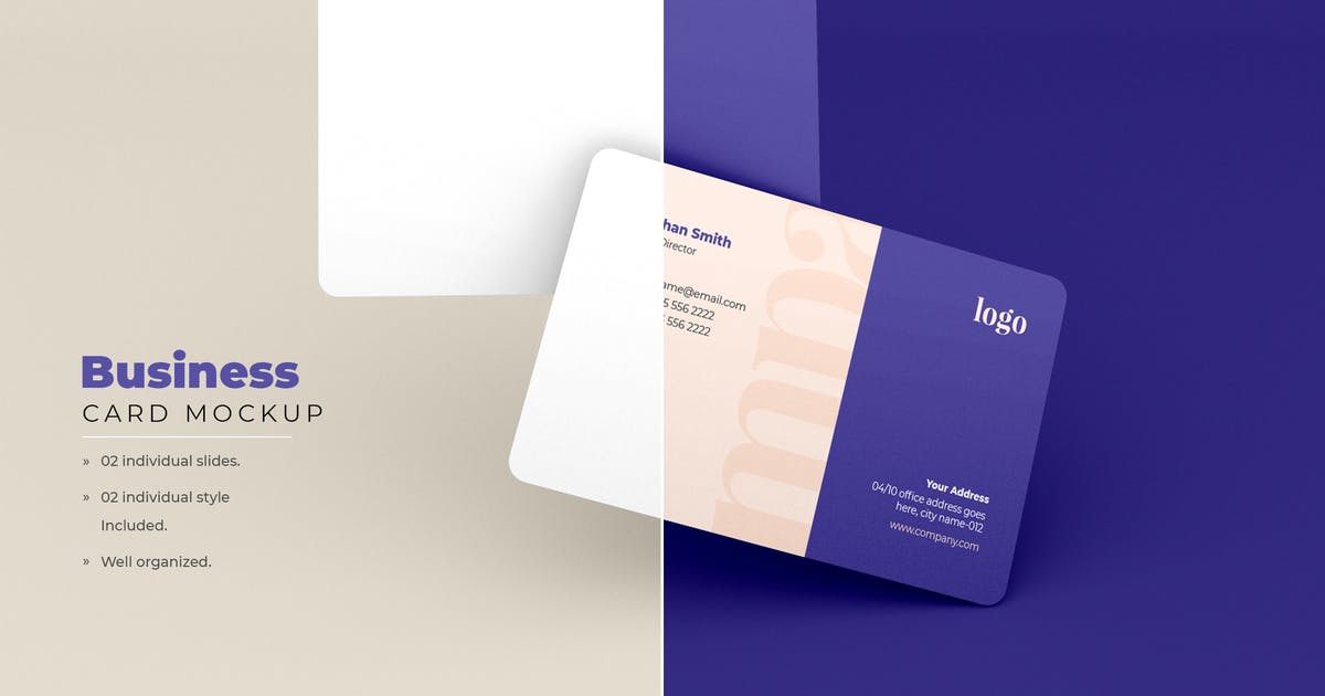 Download Business Card Mockup - Vol 11 by xvector-team