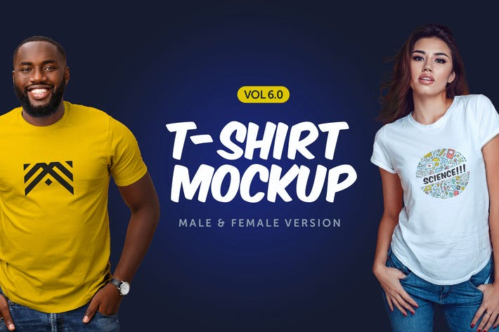Cover Image For T-Shirt Mockup 6.0