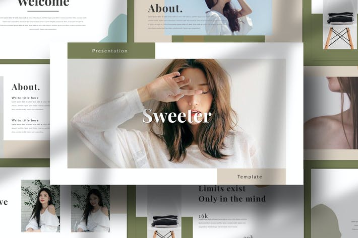 SWEETER. - Minimal Creative Keynote