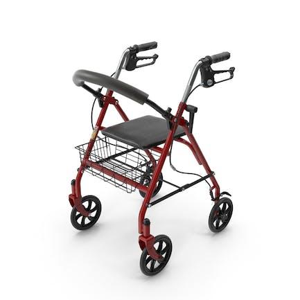 Fahren Sie medizinische Vierrad-Rollator
