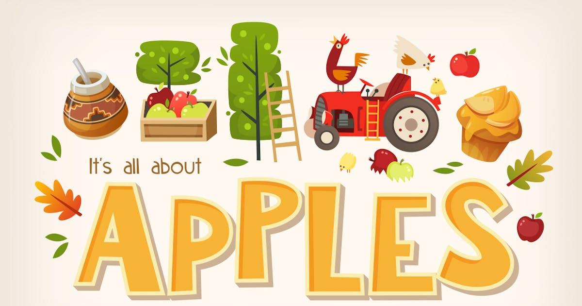 Download Big apples set by moonery