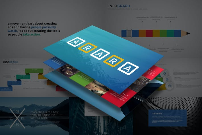 Thumbnail for ARARA Powerpoint Template