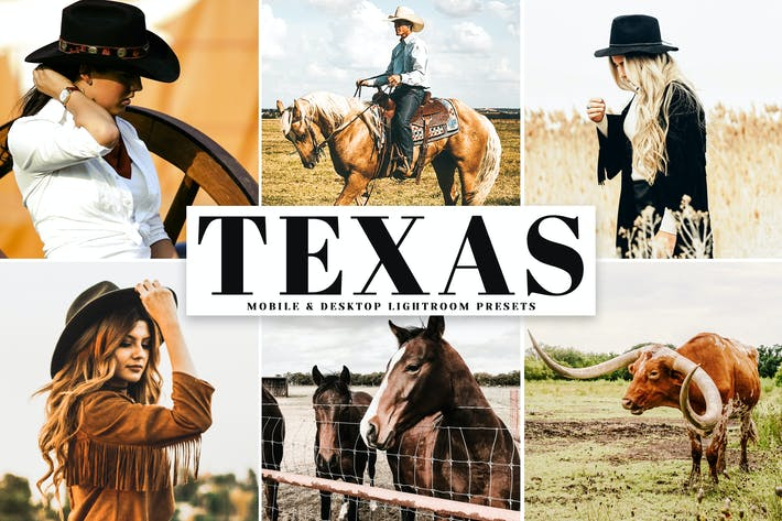 Thumbnail for Texas Mobile & Desktop Lightroom Presets
