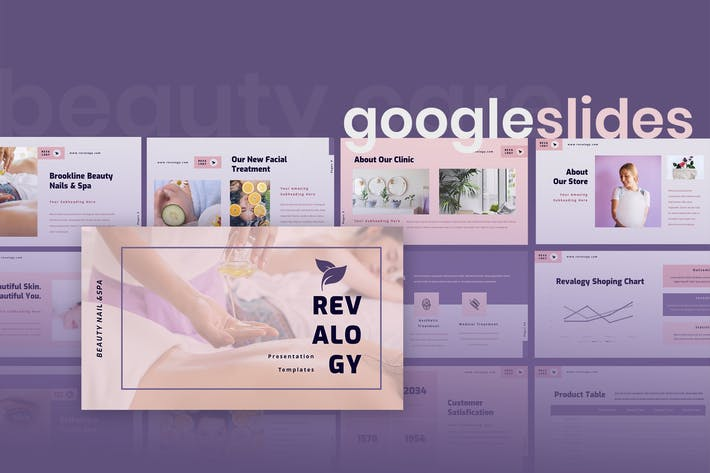 Cover Image For Revalogy - Spa & Beauty Care Google Slides