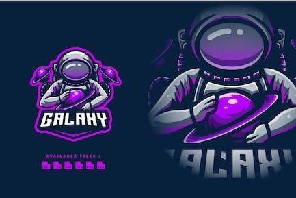 Galaxy Esport and Sport Logo