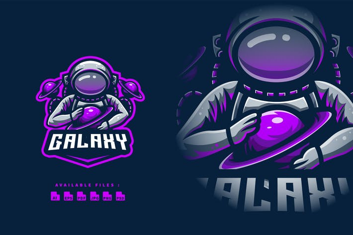 Galaxy Esport and Sport Logo