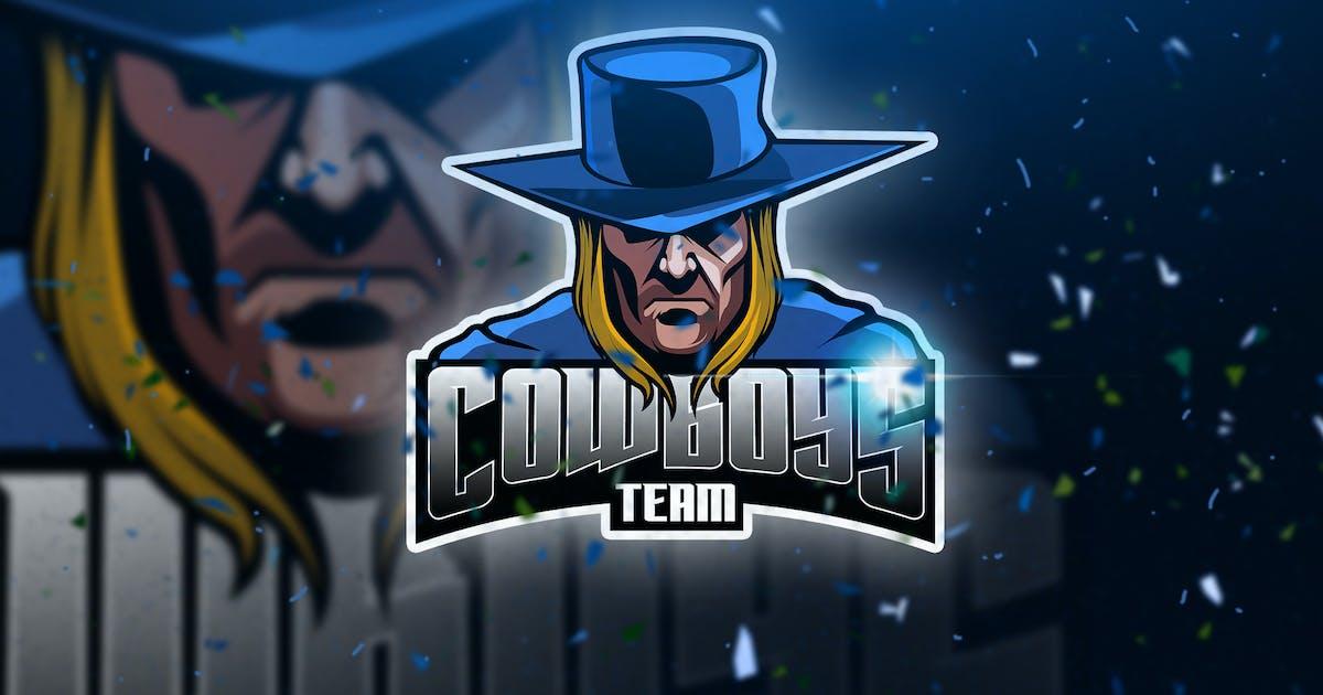 Download Cowboys - Mascot & Esport Logo by aqrstudio