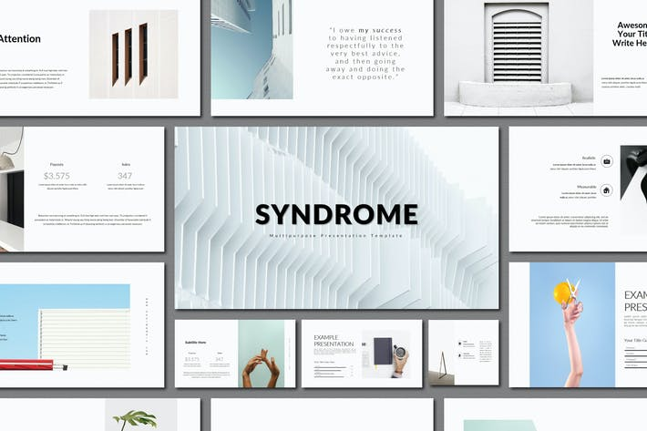 Thumbnail for Syndrome | Keynote Templates