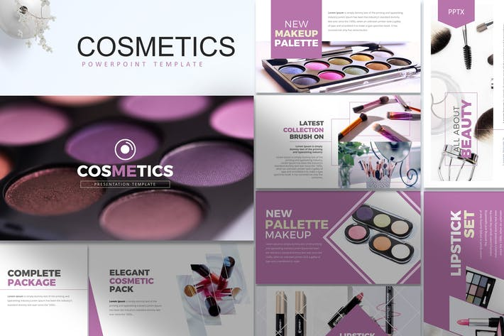 Thumbnail for Cosmetics- Powerpoint Template