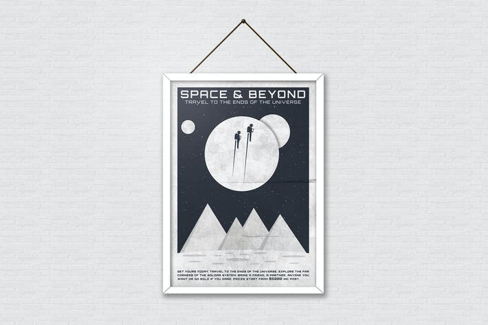 Cover Image For Space Adventure Poster