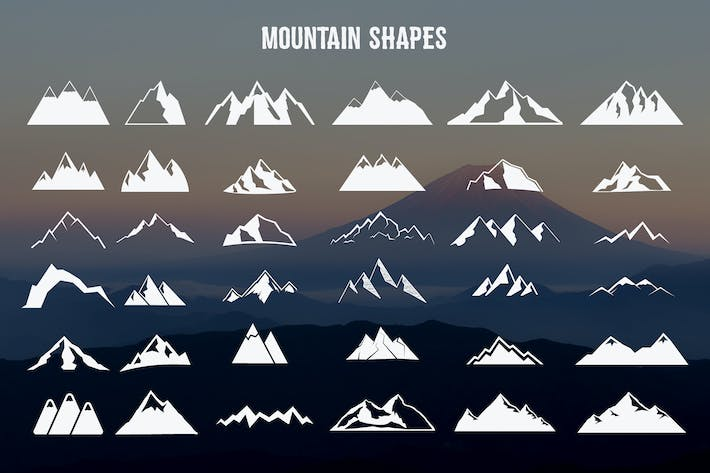 Thumbnail for Mountain Shapes Collection