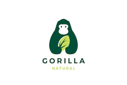 Gorilla Leaf Logo