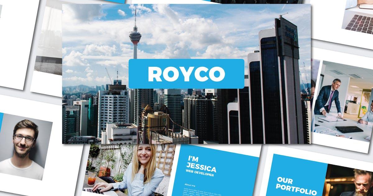 Download Royco - Presentation Templates by Byulyayika