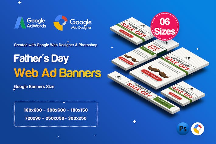 Thumbnail for C29 - Father's Day HTML5 - GWD & PSD