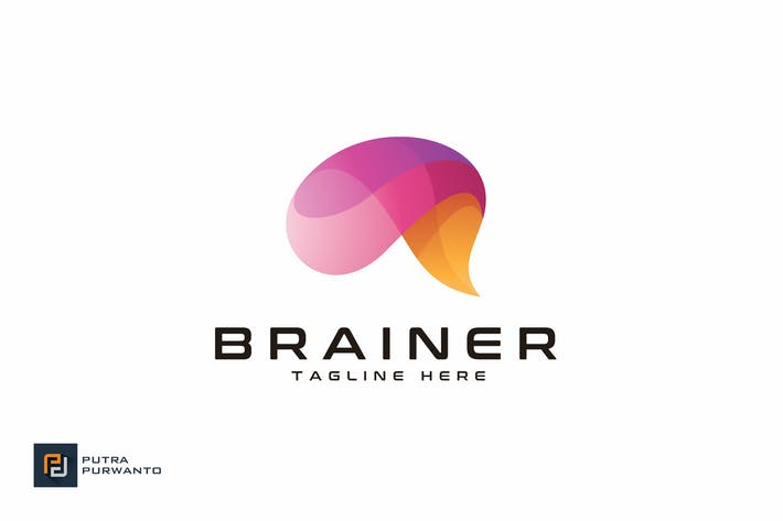 Thumbnail for Brainer / Brain - Logo Template