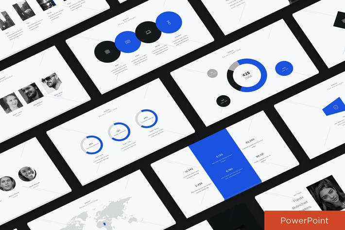 Thumbnail for Blue Fresh Powerpoint Presentation