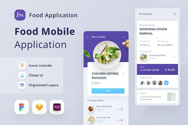 Food Mobile App