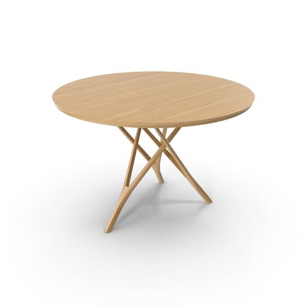 Thumbnail for Wood Tripod Table