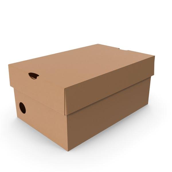 Картонная коробка маленькая
