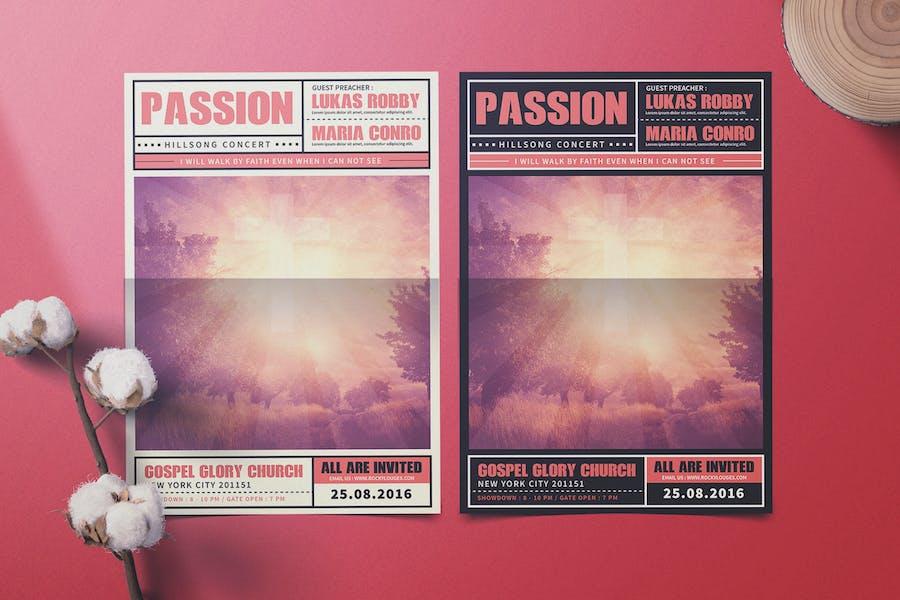 Gospel Concert Flyer