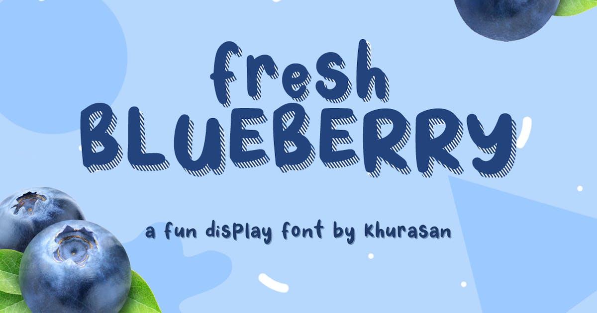 Download Fresh Blueberry by khurasan