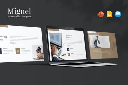 Miguel - Presentation Template