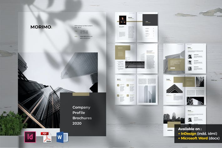 Thumbnail for MORIMO Creative Agency Company Profile Brochures