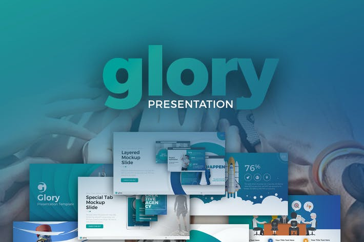 Thumbnail for Glory Presentation - Business Pack Powerpoint
