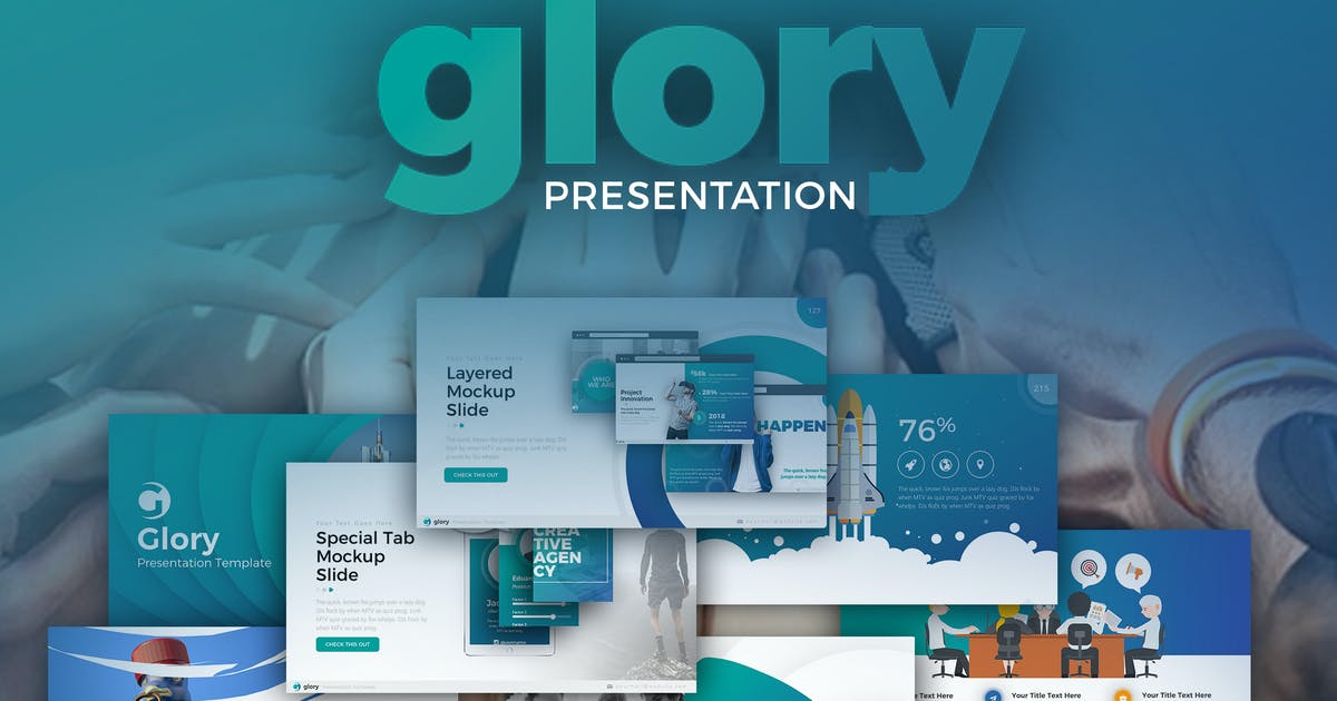 Download Glory Presentation - Business Pack Powerpoint by Unknow