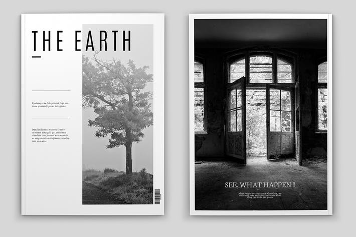 Thumbnail for 32 Pages Indesign Magazine Template