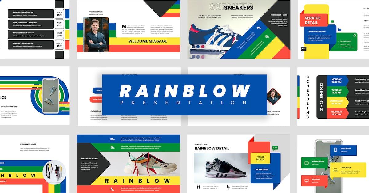 Download Rainblow - Powerpoint Presentation by vectorclans